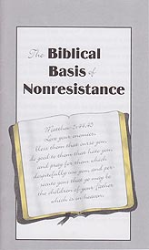 Tract [D] - The Biblical Basis of Nonresistance