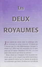 French Tract [B] - Les deux royaumes [The Two Kingdoms]