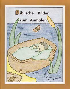 German - B - Biblische Bilder zum Anmalen [Bible Pictures to Color]