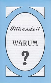 German Tract [B] - Sittsamkeit—Warum? [Modesty—Why?]