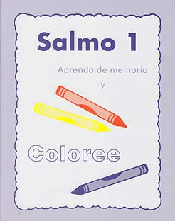 Salmo 1 aprenda de memoria y coloree [Psalm 1 Coloring Book]