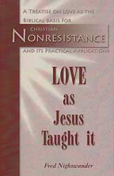 Love as Jesus Taught It