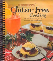 Hieberts' Gluten-Free Cooking - cookbook