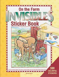 On the Farm Invisibles Sticker Book