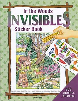 In the Woods Invisibles Sticker Book