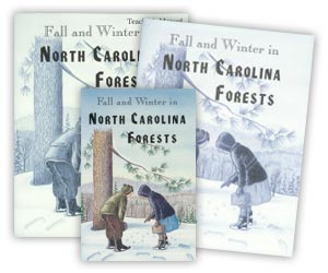 """Fall and Winter in North Carolina"" Workbook Set"