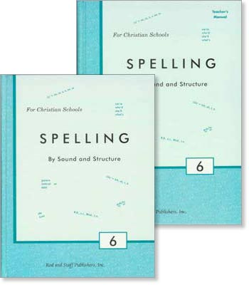 "Grade 6 Spelling ""Spelling by Sound and Structure"" Set"