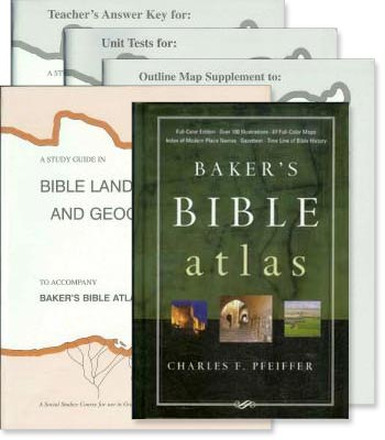 "Bible History ""Baker's Bible Atlas"" Study Guide Set"