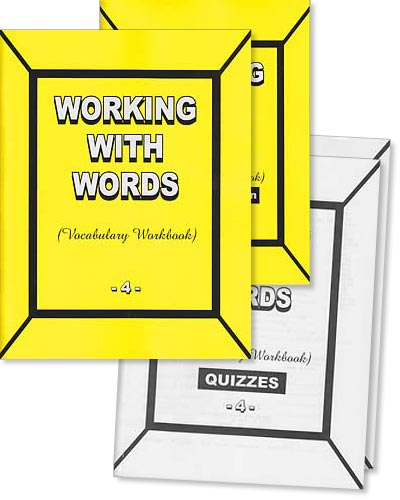 "Grade 4 Pathway Vocabulary ""Working With Words"" Set"