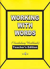 Grade 4 Pathway Vocabulary Workbook (Teacher's Edition)