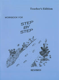 "Grade 6 Pathway ""Step By Step"" Workbook (Teacher's Edition)"