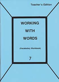 Grade 7 Pathway Vocabulary Workbook (Teacher's Edition)