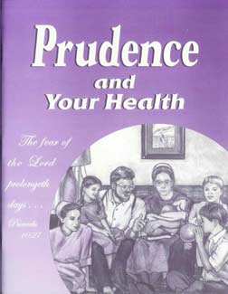Prudence and Your Health workbook