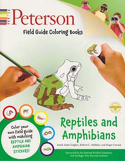 Peterson Field Guide Coloring Books - Reptiles and Amphibians