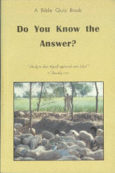 Do You Know the Answer? - Bible Quiz Book