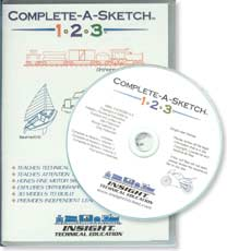 Complete-A-Sketch 123 - EBook CD