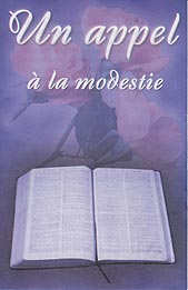 French Tract [B] - Un appel à modestie [A Call to Modesty]
