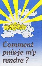 French Tract - Comment puis-je m'y rendre ? [How Can I Go There?] [Paq. de 100]