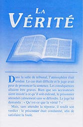 French Tract [A] - La vérité [The Truth]