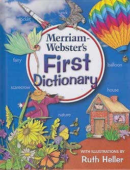 Grades PreK-2 Merriam-Webster's First Dictionary (hardcover)