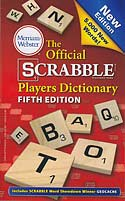 Official Scrabble Players Dictionary 5th Edition - paperback