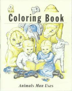 Animals Man Uses - Bible Coloring Book