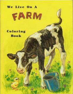 We Live on a Farm Coloring Book