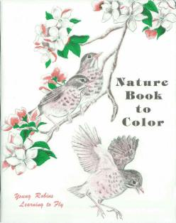 Nature Book to Color