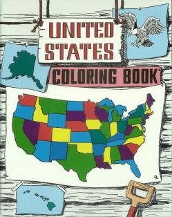 United States - Countries Coloring Book