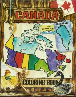 Canada - Countries Coloring Book