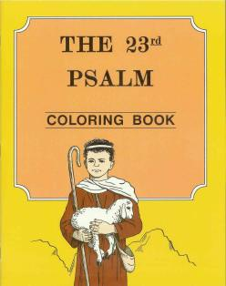 The 23rd Psalm Coloring Book
