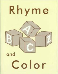 Rhyme and Color Coloring Book
