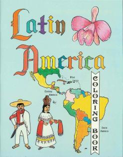 Latin America - Countries Coloring Book