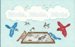 "Birds, Birds, Birds - ""God's Creation"" Coloring Book"