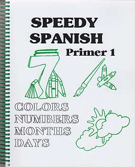 Speedy Spanish Primer Vocabulary/Coloring Book