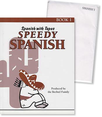 Speedy Spanish Book 1 Workbook and Vocabulary Cards