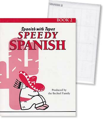 Speedy Spanish Book 2 Workbook and Vocabulary Cards