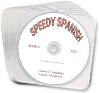 Speedy Spanish Book 2 Audio CDs
