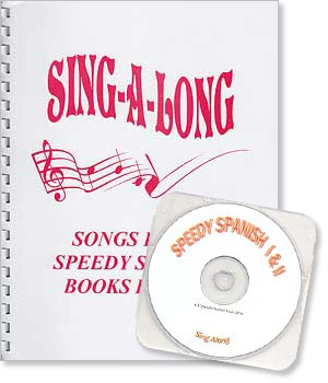 Speedy Spanish - Sing-Along Book and Audio CD