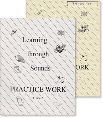 "Grade 2 ""Learning Through Sounds"" Practice Work Set"