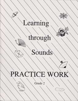 "DISCOUNT - Grade 2 ""Learning Through Sounds"" Practice Work Workbook"