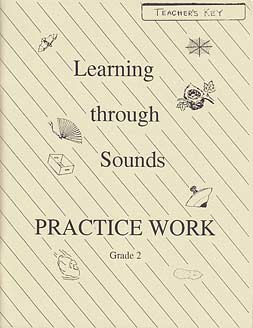 "Grade 2 ""Learning Through Sounds"" Practice Work Teacher's Edition"