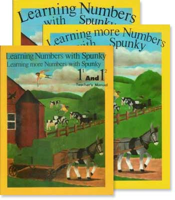 "Grade 1 Schoolaid Math ""Learning Numbers with Spunky"" Set"