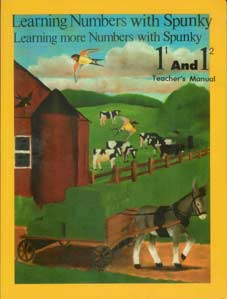 "Grade 1 Schoolaid Math ""Learning Numbers with Spunky"" Teacher's Manual"