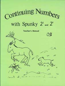"Grade 2 Schoolaid Math ""Continuing Numbers with Spunky"" Teacher's Manual"
