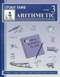 Grade 3 Study Time Arithmetic - Workbook