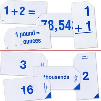 Grade 3 Study Time Arithmetic - Flash Cards