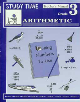 Grade 3 Study Time Arithmetic - Teacher's Manual