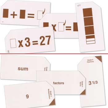 Grade 4 Study Time Arithmetic - Flash Cards