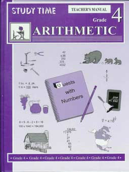 Grade 4 Study Time Arithmetic - Teacher's Manual